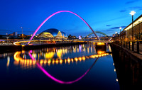 Millenium Bridge - Newcastle Upon Tyne
