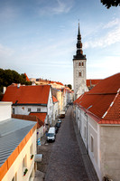 Streets of Tallinn,Estonia