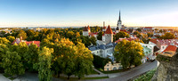 Tallinn skyline,Estonia