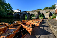 Durham, England UK -Boats