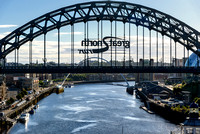 The Tyne Bridge , Newcastle upon Tyne, England