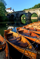 Boats River Wear Durham England UK