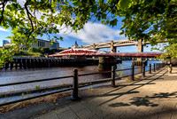 Swing Bridge, Newcastle, Tyne and Wear England UK