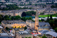 Bath City Skyline Uk