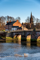 River Dee Chester England